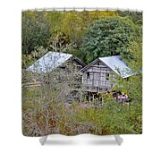 Cabins Shower Curtain