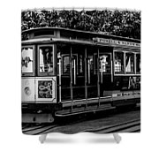 Cable Car Shower Curtain