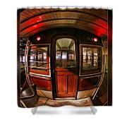 Cable Car Door Shower Curtain