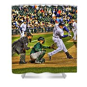 Cabrera Grand Slam Shower Curtain