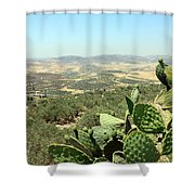 Cactus At Samaria Shower Curtain