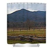 Cade's Cove - Smoky Mountain National Park Shower Curtain