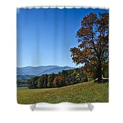Cades Cove Landscape Shower Curtain