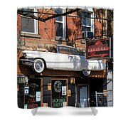 Cadillac Lounge Shower Curtain