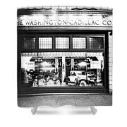 Cadillac Storefront, 1927 Shower Curtain