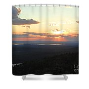 Cadillac Sunset Shower Curtain