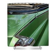 Cadillac Tail Fins Shower Curtain