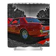 Cadp0710-12 Shower Curtain