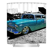 Cadp0736-12 Shower Curtain