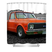 Cadp239-12 Shower Curtain