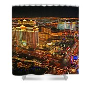Caesars Palace On The Strip Shower Curtain