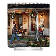 Cafe - Clinton Nj - Bistro Bakery  Shower Curtain