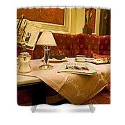Cafe Sacher - Vienna Shower Curtain