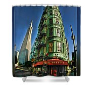 Cafe Zoetrope Shower Curtain