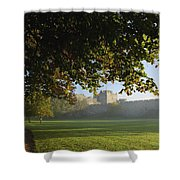 Cahir Castle Cahir, County Tipperary Shower Curtain
