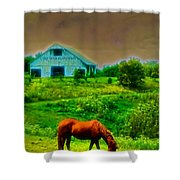 Cairo Bend Plantation Shower Curtain
