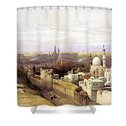 Cairo From The West Shower Curtain