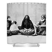 Cairo: Natives Shower Curtain