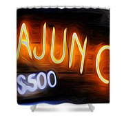Cajun Casino - Bourbon Street Shower Curtain