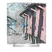 Cajun Country Satellite Dish Shower Curtain