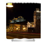 Calahorra Cathedral At Night Shower Curtain