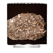 Calcite Under Visible Light Shower Curtain