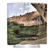 Calf Creek Demon Shower Curtain