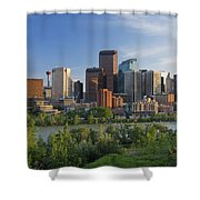 Calgary, Alberta, Canada Shower Curtain