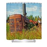 Calgary Tractor Shower Curtain