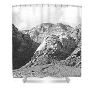 Calico Basin Shower Curtain