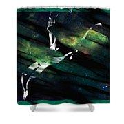 Caliente Aurora Shower Curtain