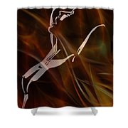 Caliente On Fire Shower Curtain