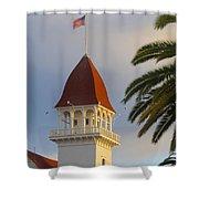 California 1 Shower Curtain