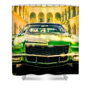 California 1970 Camaro Shower Curtain