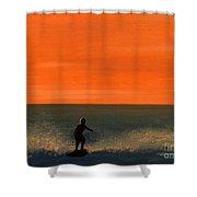 California Boy Shower Curtain