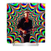 California Colors Shower Curtain