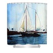California Dreamin IIi Shower Curtain by Kip DeVore