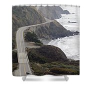 California Highway 1 Or Pacific Coast Shower Curtain