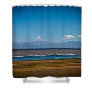 California Lake Shower Curtain