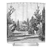 California: Pasadena, 1890 Shower Curtain