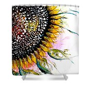 California Sunflower Shower Curtain