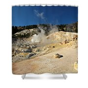 California Thermals Shower Curtain