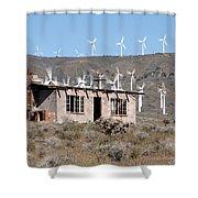 California Wind Shower Curtain