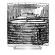 California: Winery, 1864 Shower Curtain