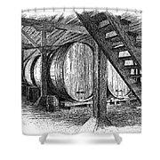 California: Winery, C1890 Shower Curtain