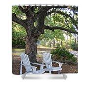 Callaway Chairs Shower Curtain
