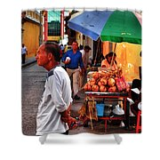 Calle De Coco Shower Curtain