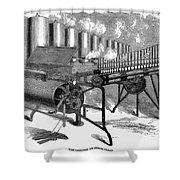 Calliope, 1859 Shower Curtain