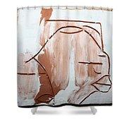Calm - Tile Shower Curtain