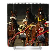 Calm Cool Collected Shower Curtain